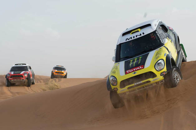 Mini at the 2014 Dakar Rally