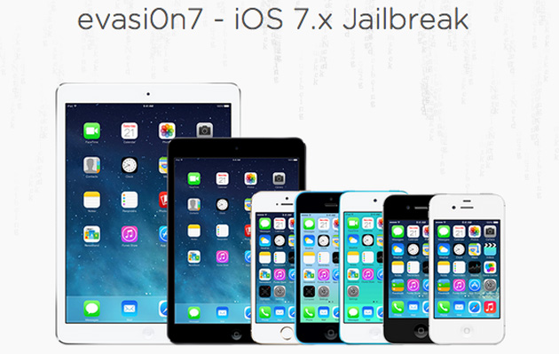 Evasi0n7 iOS 7 jailbreak