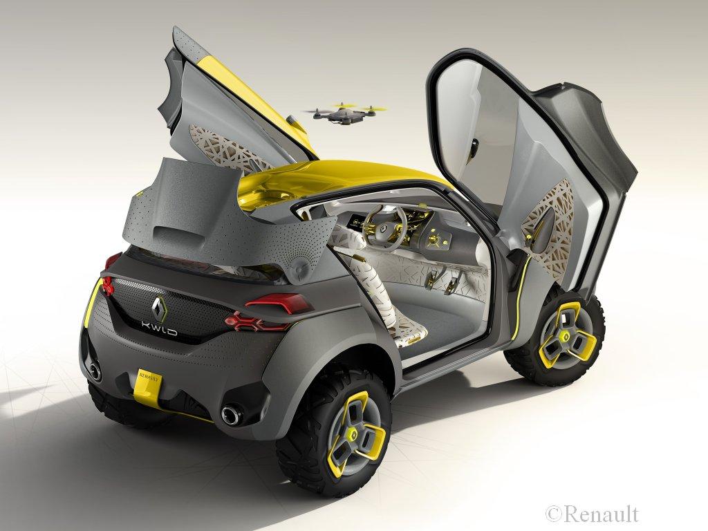 Renault KWID Concept, Renault, KWID, KWID concept, buggy, Beach buggy,  Delhi Auto Show