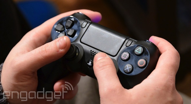 DualShock 4 controller for the PlayStation 4