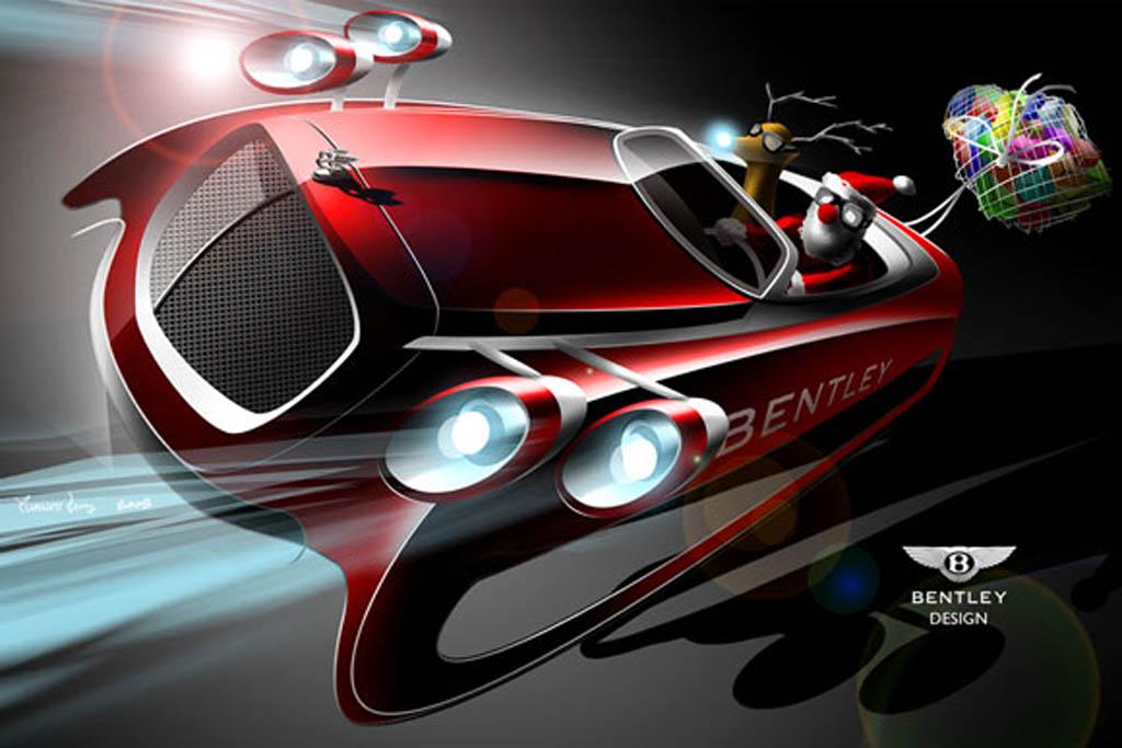 auto, car ad, CarAd, featured, funny, humor, komisch, lustig, das auto vom weihnachtsmann, santa claus drive,  santa claus, schlitten, Weihnachtsmann, so schnell ist der Weihnachtsmann,