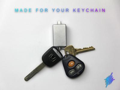 PulsePak keychain battery pack