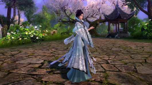 Age of Wushu Palace of Shifting Flowers girl