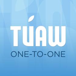 tuaw one to one podcast logo