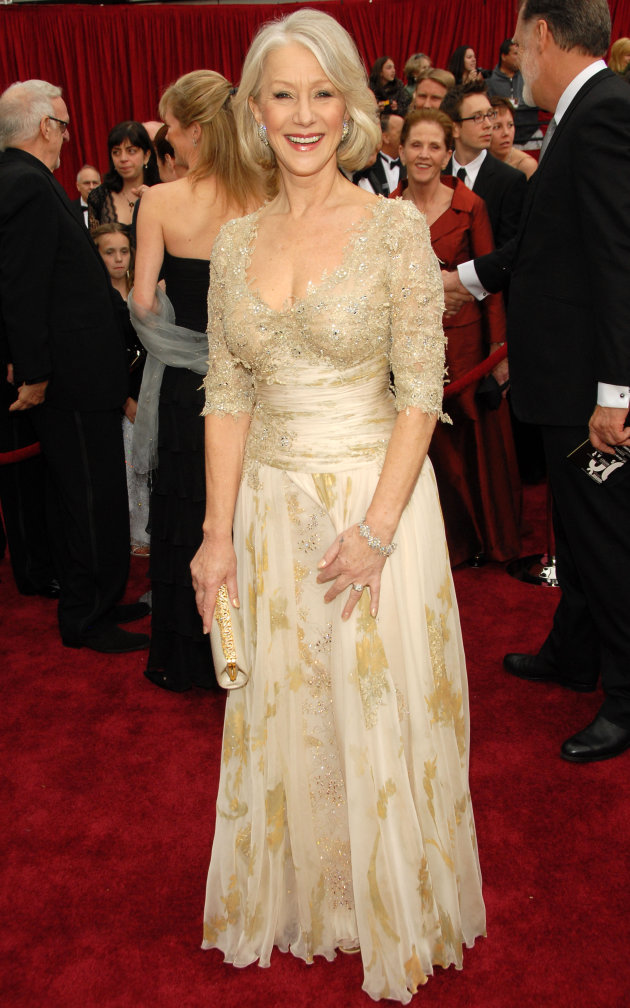 Helen Mirren Oscars 2007