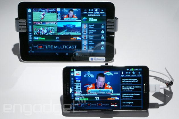Verizon's LTE Multicast demo