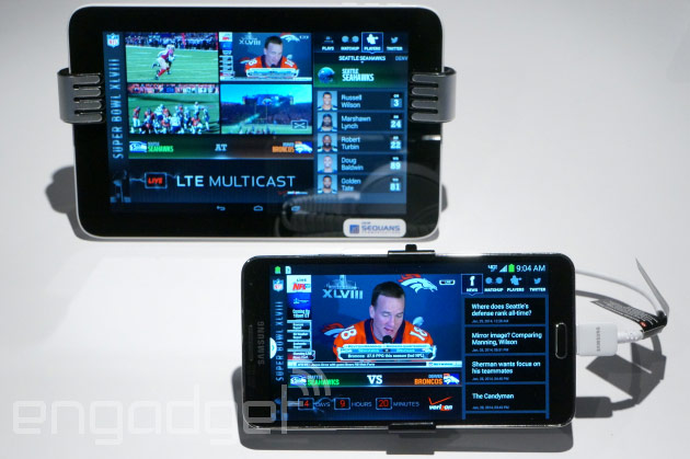 AT&T will send LTE media broadcasts to your phone in 2015