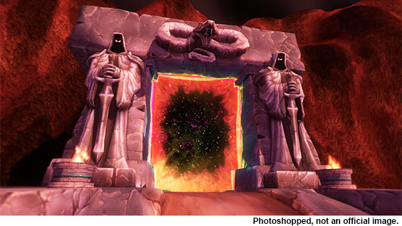 Red Dark Portal