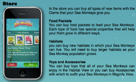 sea monkey store