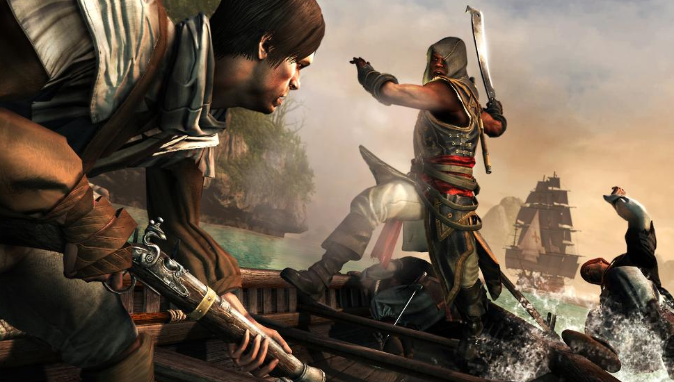Assassin's Creed 4 Freedom Cry DLC Opens on Xbox One