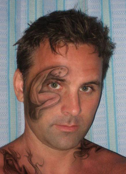 worst face tattoos fail art