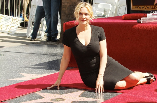 Academy Award winner Kate Winslet receives her star on the Walk Of Fame  in Hollywood, Ca <P> Pictured: Kate Winslet <B>Ref: SPL721221  170314  </B><BR/> Picture by: London Entertainment /Splash<BR/> </P><P> <B>Splash News and Pictures</B><BR/> Los Angeles: 310-821-2666<BR/> New York: 212-619-2666<BR/> London: 870-934-2666<BR/> photodesk@splashnews.com<BR/> </P>