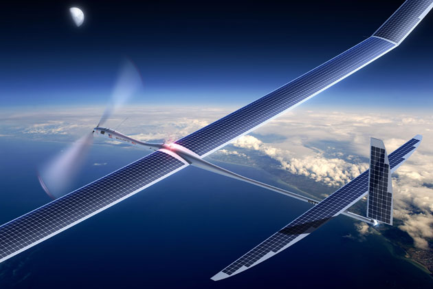 Facebook in talks to buy drone company, could battle Google's internet balloons
