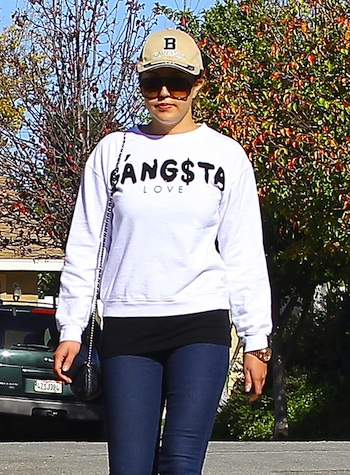 51278775 Troubled actress Amanda Bynes was spotted out for a stroll with her folks in Thousand Oaks, California on December 5, 2013. Amanda is out of rehab and back home with her parents after receiving a formal diagnosis of schizophrenia and recently told InTouch Magazine: