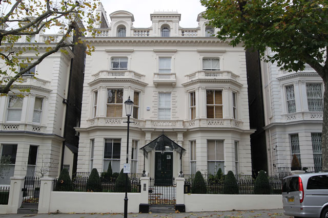 David and Victoria Beckham's new London mansion