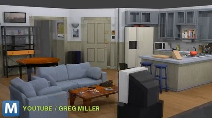 Take a Virtual Reality Tour of Iconic 'Seinfeld' Apartment