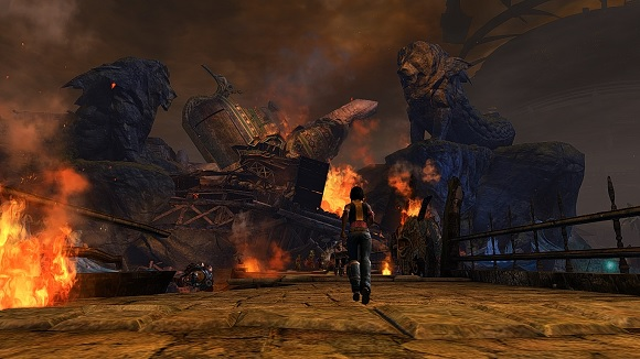 Lion's Arch is burning down, burning down, burning down