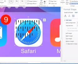iOS 7 in Microsoft Word