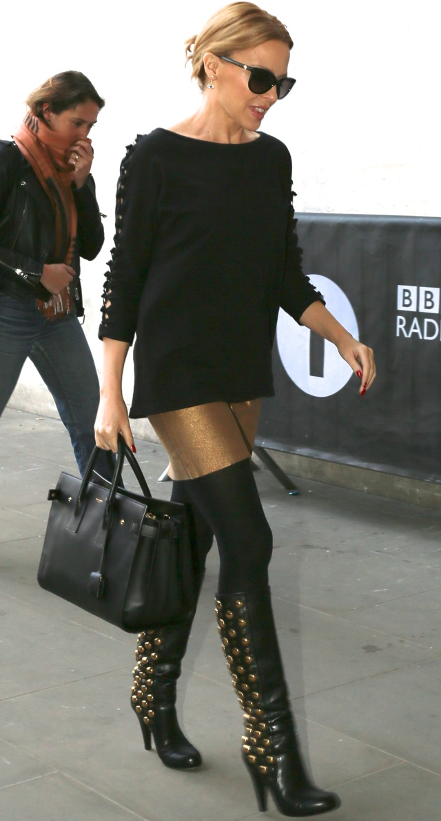 kylie-minogue-studded-boots-radio-one