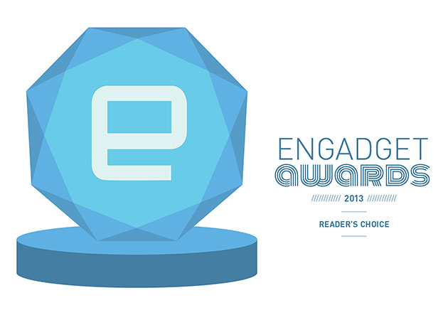 The winners of the 2013 Engadget Awards -- Readers' Choice