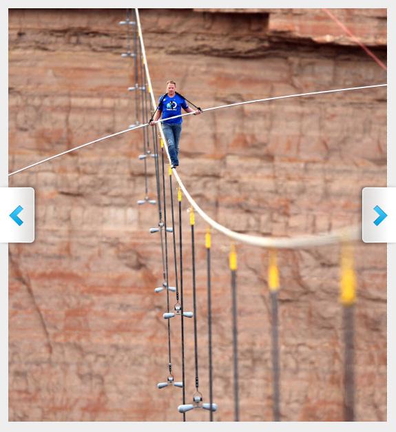 Nick Wallenda Grand Canyon