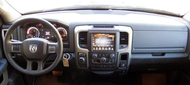 2013 Ram 1500 interior
