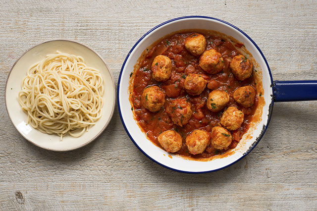 Jack Monroe's Turkey Meatballs
