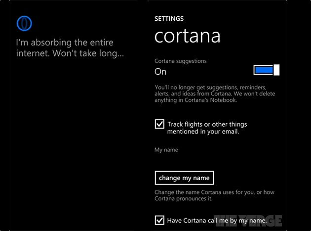 Leaked screenshots reveal Cortana, Microsoft's digital assistant for Windows Phone