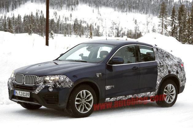 【スパイショット】完成間近? BMW「X4」の市販型をキャッチ!