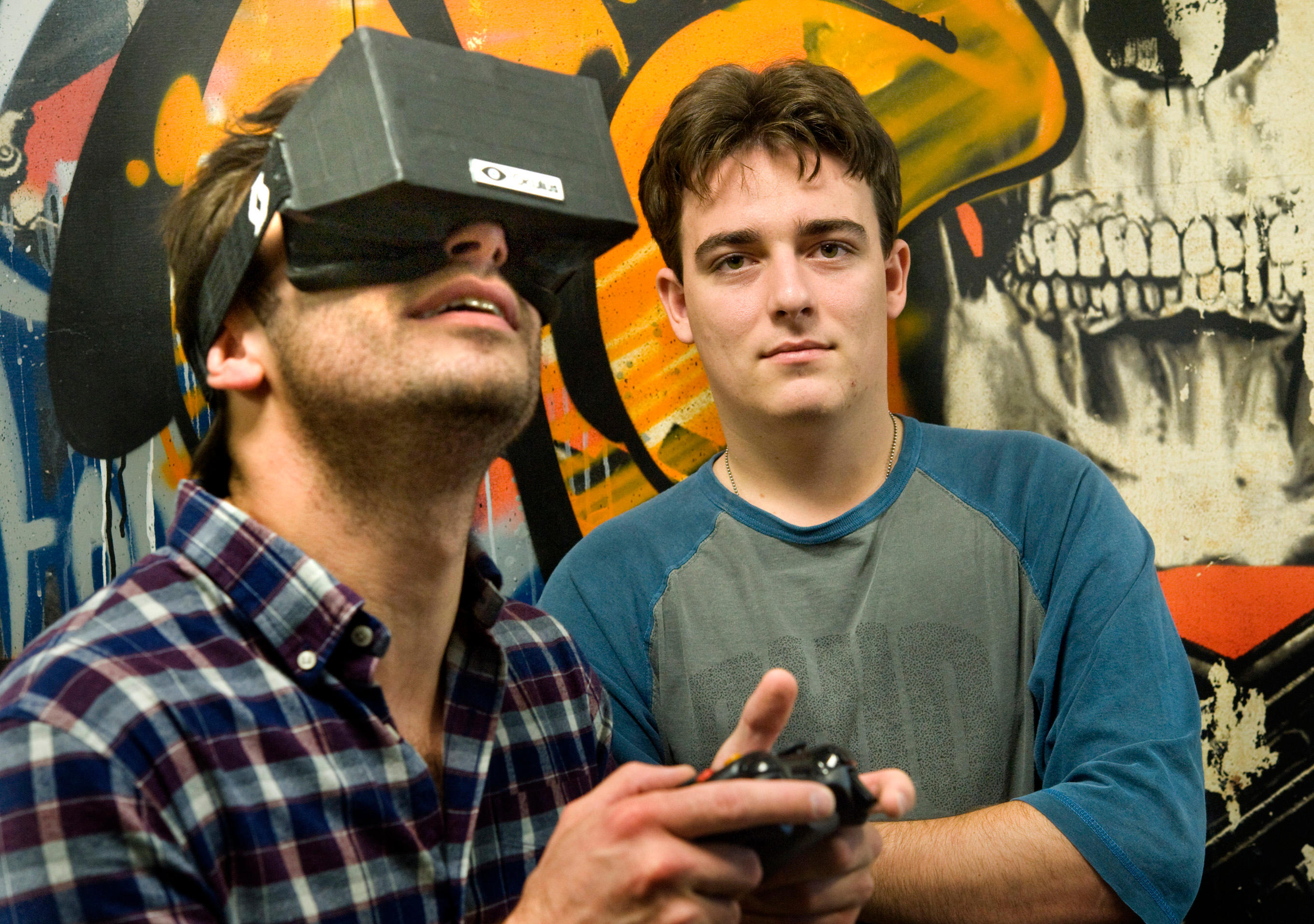 Oculus founders: Facebook lets us bring the best VR experience to a billion people