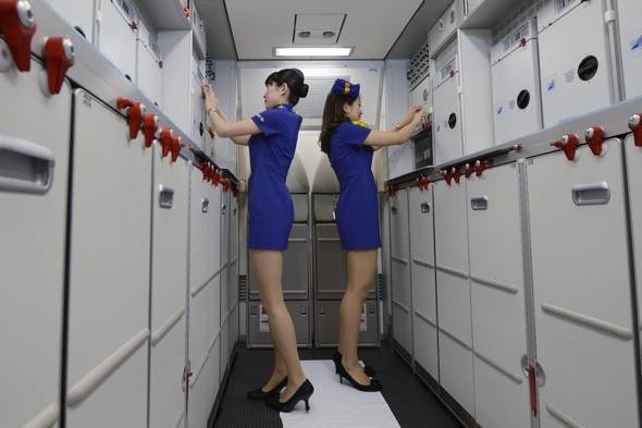 minidress-flight-attendant-uniform-criticism-skymark-japanese-airline