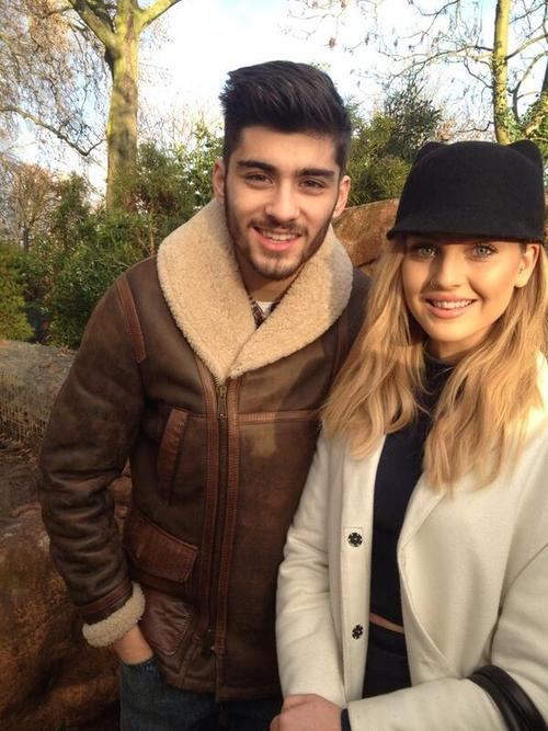 Zayn Malik and Perrie Edwards London Zoo pics