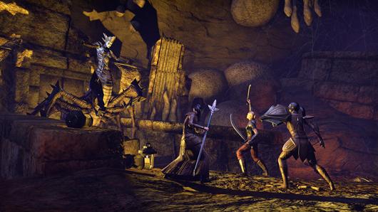 Elder Scrolls Online dungeon group