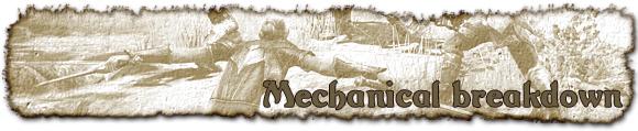 Mechanical breakdown