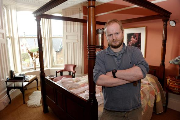 Alex Scrivenor Owner Of The Crags Hotel In Callander Scotland Feb 26