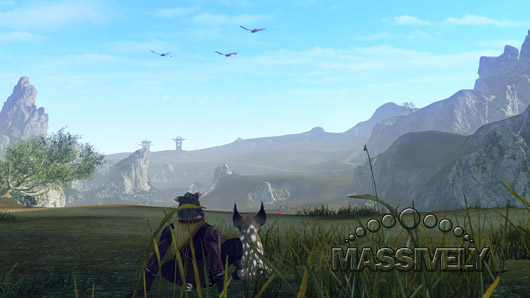 ArcheAge - Two cats watching birds