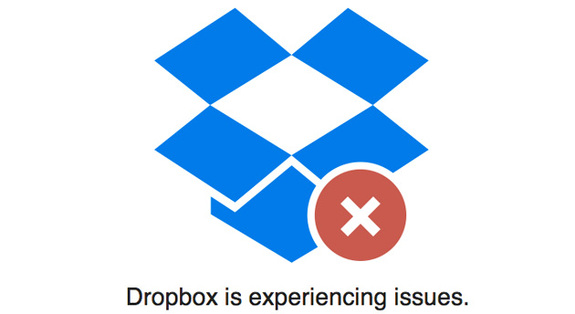 Dropbox is experiencing 'issues'