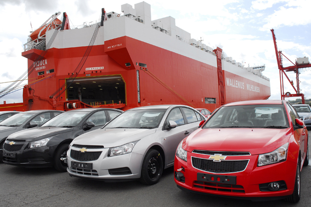 Chevy Cruze arrives in Europe