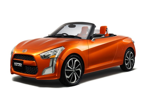 Japanese marque Daihatsu is set to bring back its tiny Copen two ...: cars.aol.co.uk/2013/11/01/daihatsu-set-to-bring-back-the-tiny-copen...
