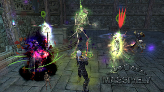 EverQuest II dungeon group