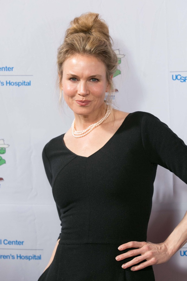 Mandatory Credit: Photo by Drew Altizer/REX (3640429c) Renee Zellweger A Starry Evening of Music, Comedy and Surprises, San Franscisco, America - 10 Mar 2014 <p>