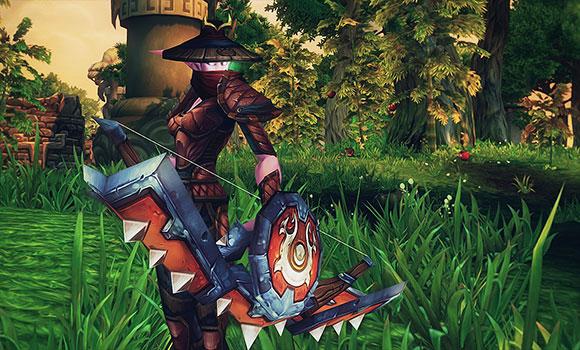Hunter in Tsunami Armor