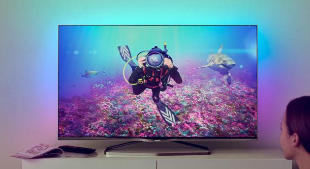 Philips apuesta por TVs 4K más manejables y Android en su última hornada