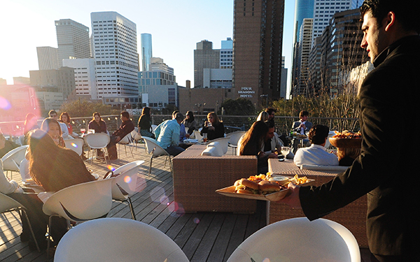 The Grove rooftop Houston