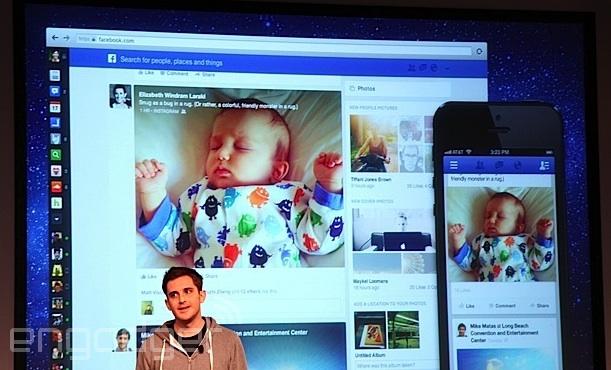 Facebook's News Feed redesign circa 2013