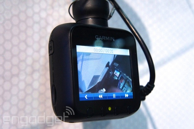 Hands On With The Garmin Dash Cam