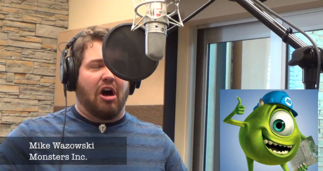 let it go disney voices