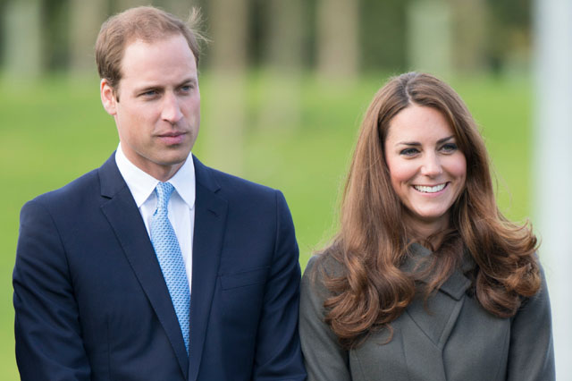 BURTON, UNITED KINGDOM - JANUARY 13:  Prince William, Duke of Cambridge and Catherine, Duchess of Cambridge attend the official launch of The Football Association's National Football Centre at St George's Park on October 9, 2012 in Burton, England.  (Photo by Mark Cuthbert/UK Press via Getty Images)