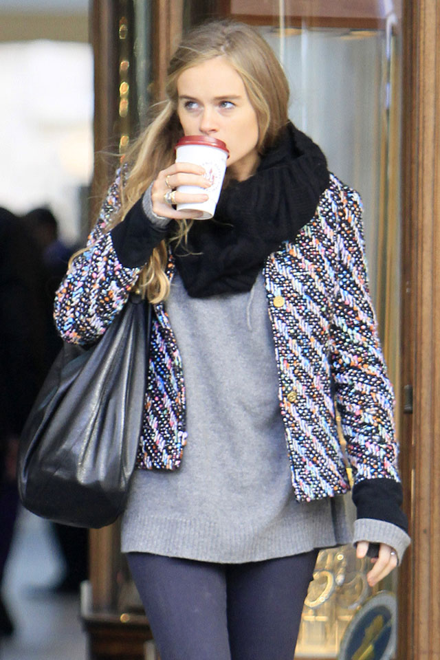 cressida bonas spotted out and about in london
