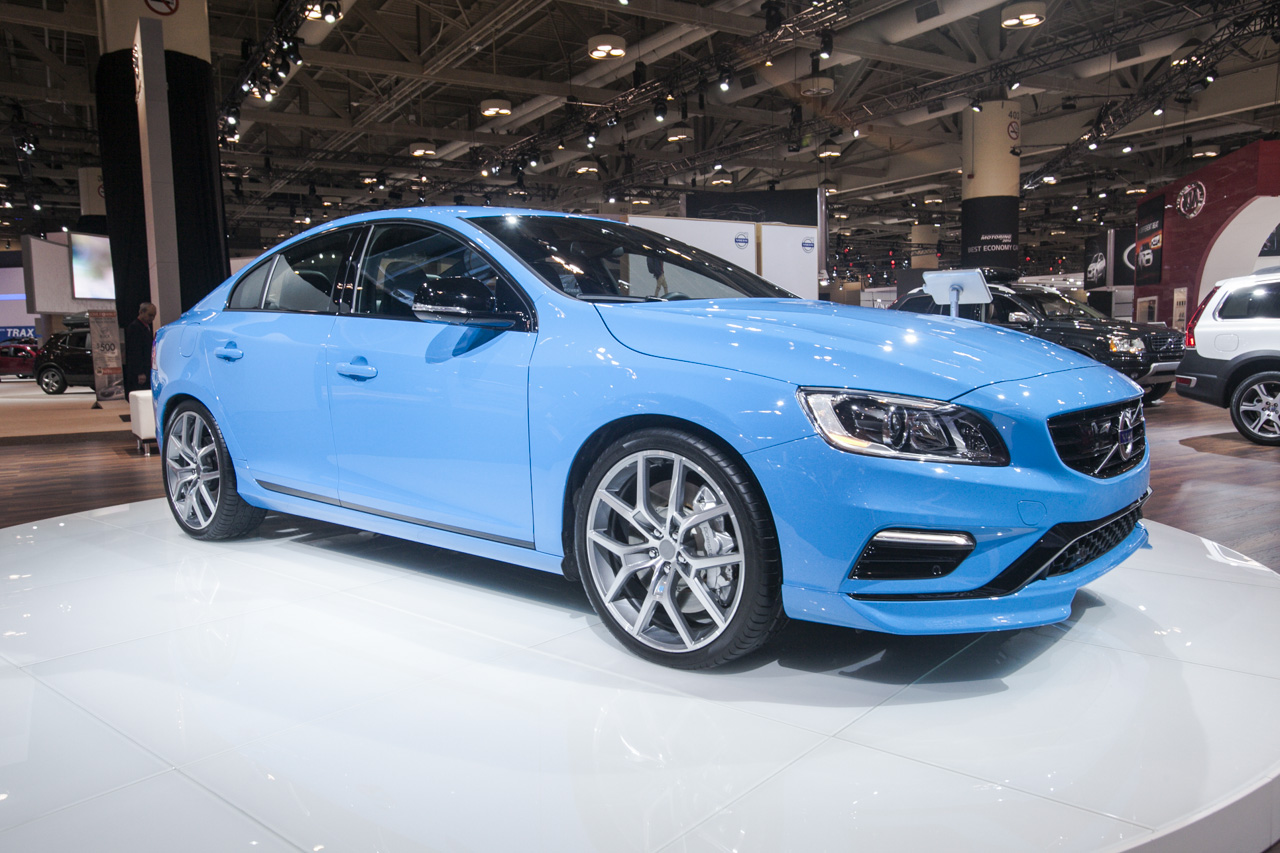 2015 volvo s60 polestar gets unleashed at toronto auto show. Black Bedroom Furniture Sets. Home Design Ideas
